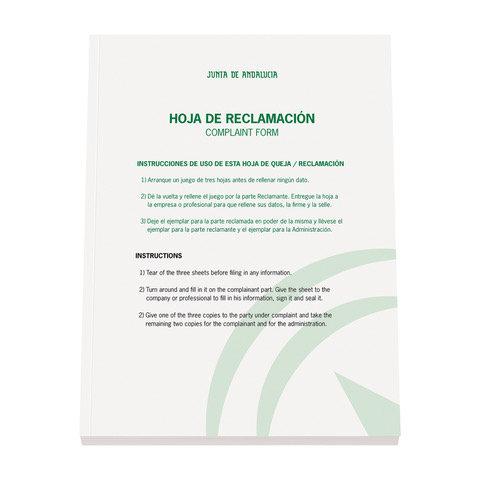 Protegido: LIBRO DE RECLAMACIONES